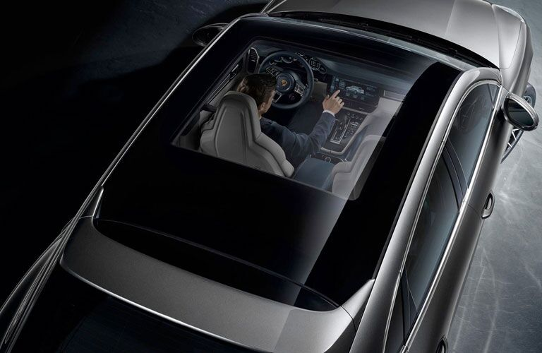 2020 Porsche Cayenne Coupe panoramic roof