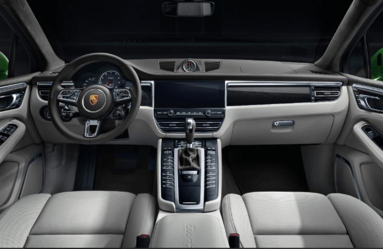 2020 Porsche Macan front interior