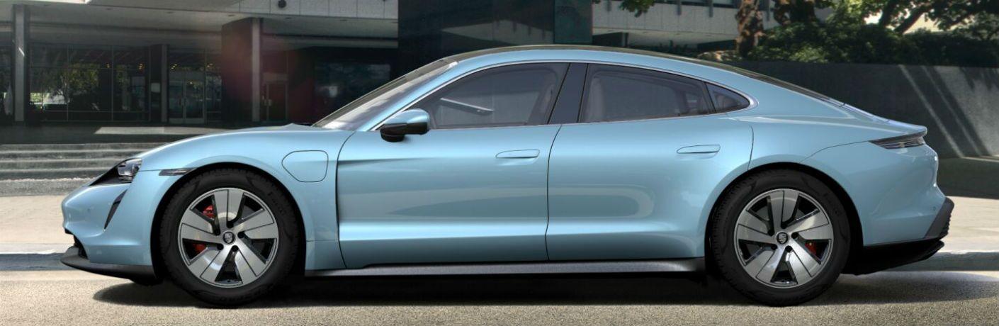 2020 Porsche Taycan exterior profile
