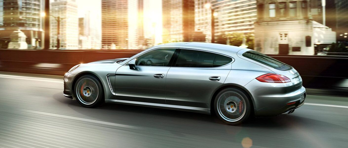 2016 Porsche Panamera on the road