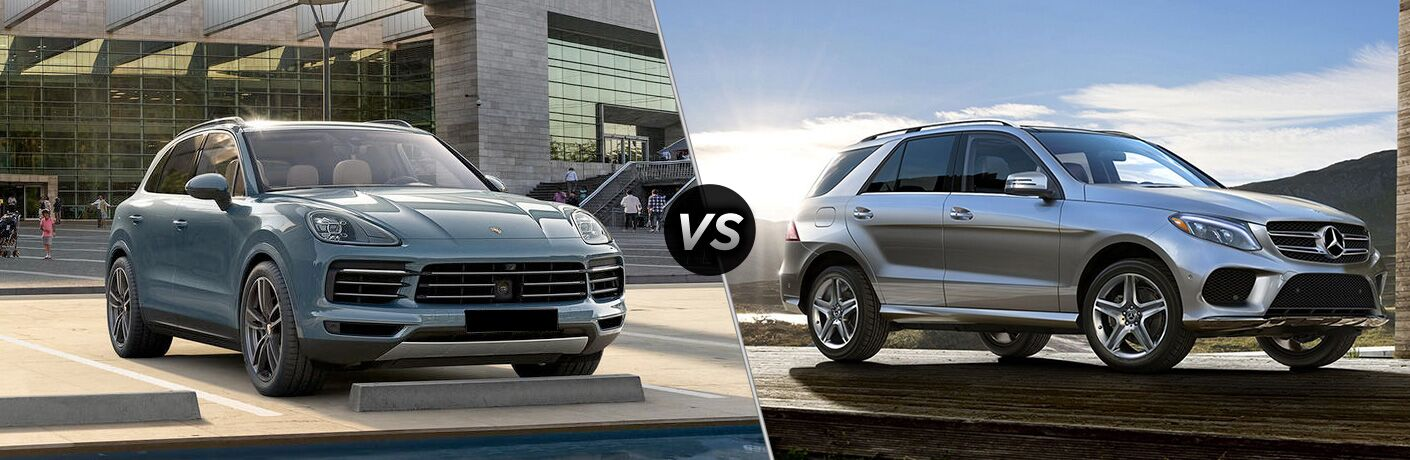 2019 Porsche Cayenne vs 2019 Mercedes-Benz GLE