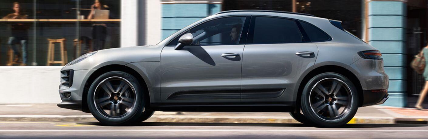 2019 Porsche Macan S profile view