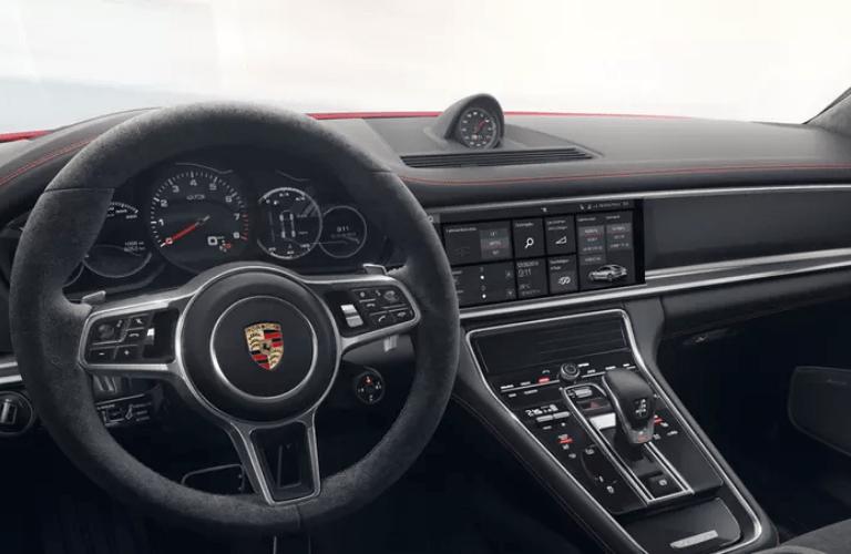 2019 Porsche Panamera GTS interior front