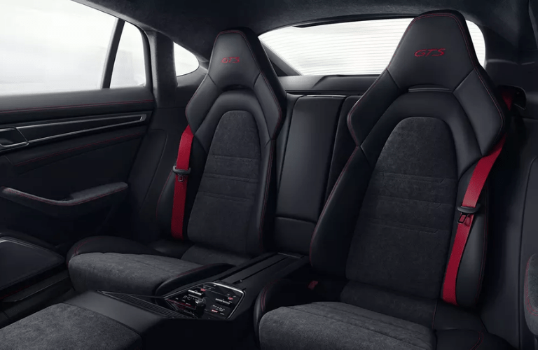 2019 Porsche Panamera GTS second row seats