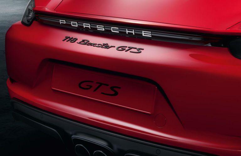 2019 Porsche 718 Boxster GTS logo