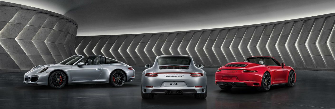 2019 Porsche 911 Carrera GTS and 2019 Porsche 911 Carrera GTS Cabriolet and 2019 Porsche 911 Targa 4 GTS