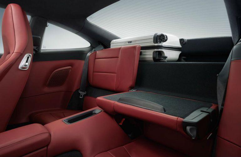 2019 Porsche 911 Turbo rear cargo compartments