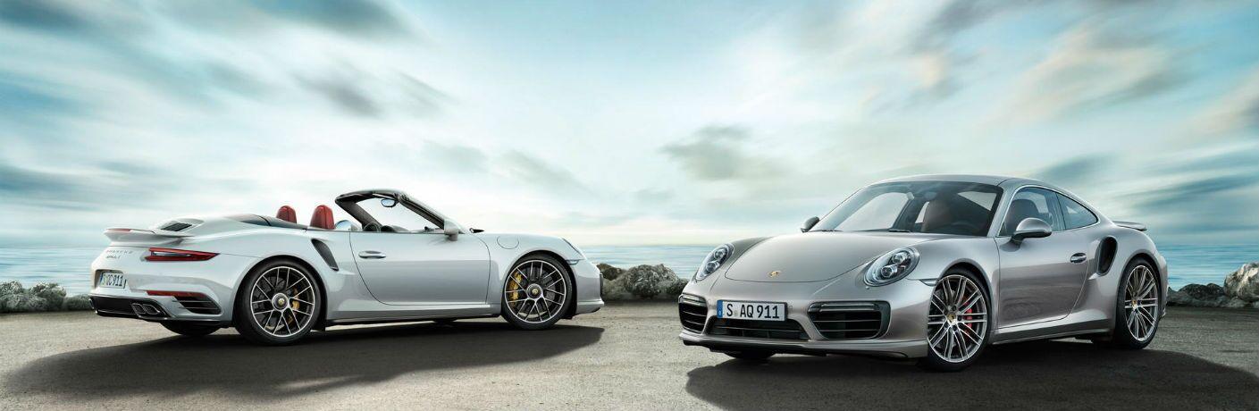 2019 Porsche 911 Turbo regular and cabriolet models
