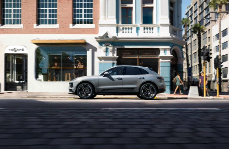 2019 Porsche Macan parked downtown