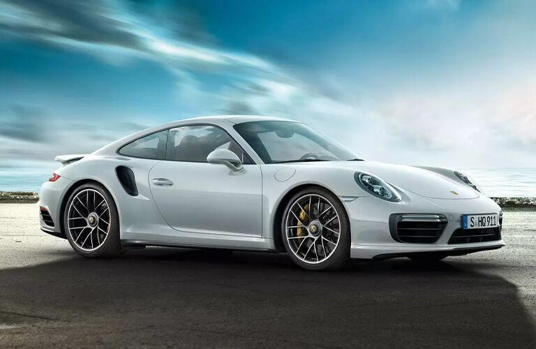 2020 Porsche 911 Turbo front fascia passenger side