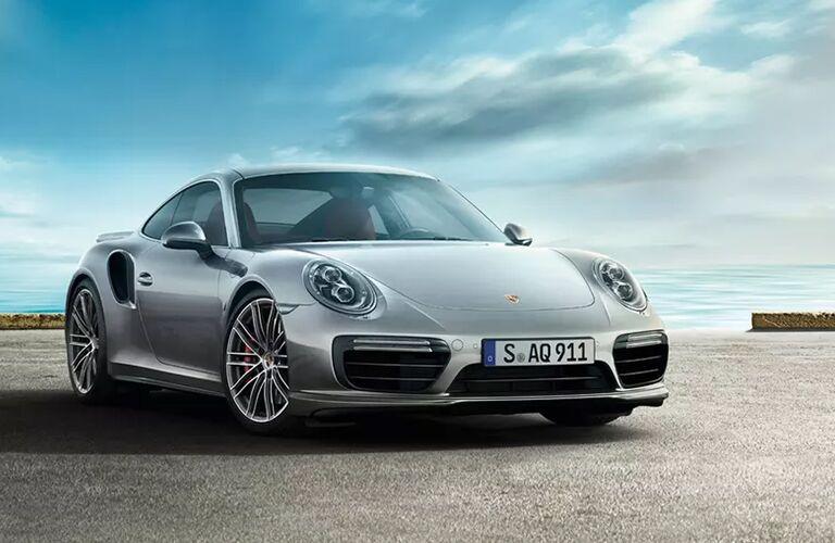 2020 Porsche 911 Turbo front fascia