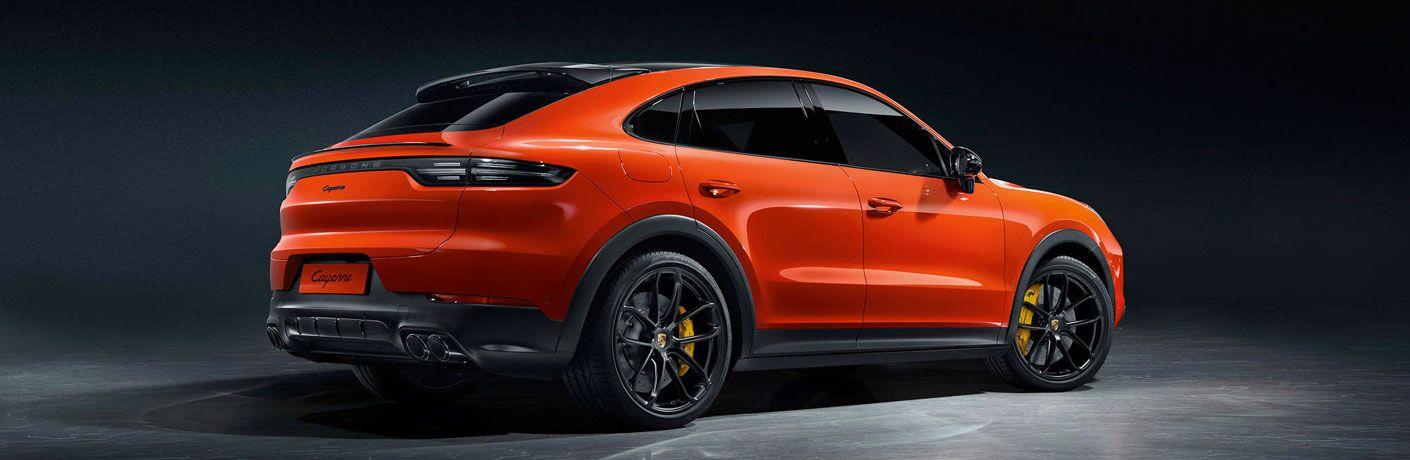 2020 Porsche Cayenne Coupe exterior profile