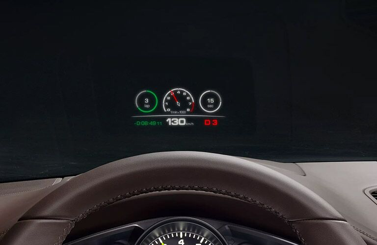 2020 Porsche Cayenne driver display
