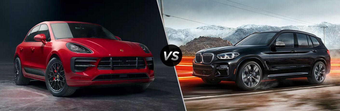 2020 Porsche Macan vs 2020 BMW X3