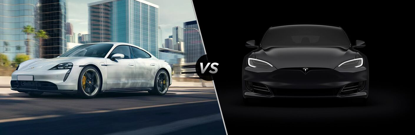2020 Porsche Taycan vs Tesla Model S