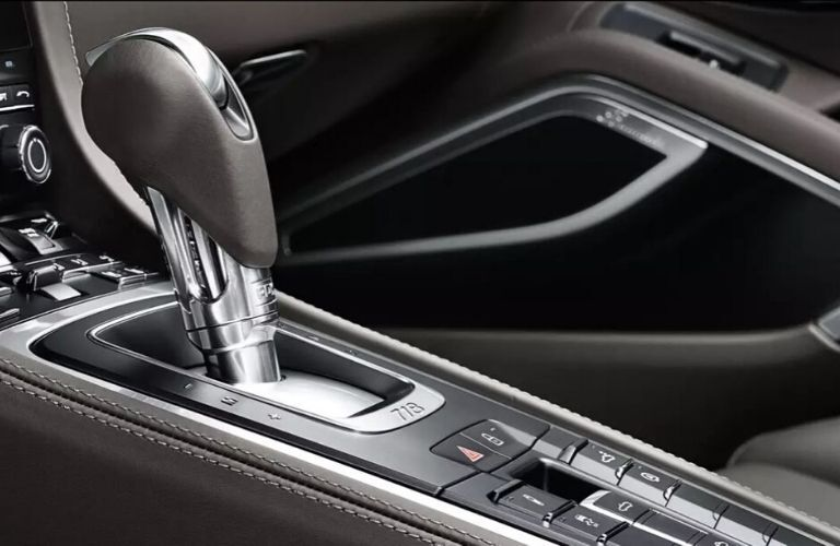 2020 Porsche Boxster gear shifter