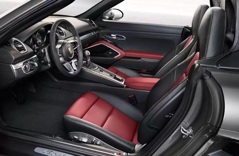 2020 Porsche Boxster interior front view