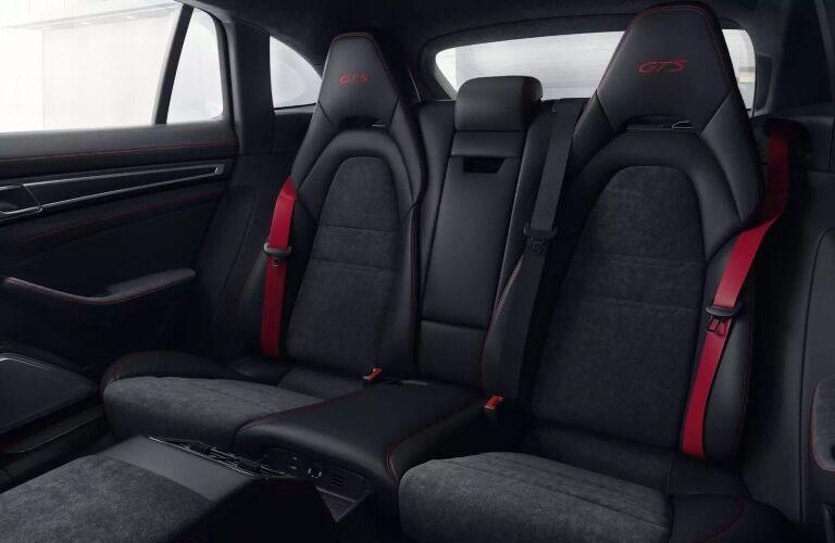 2020 Porsche Panamara GTS black back seats