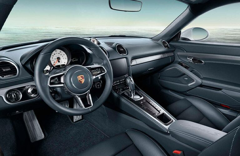 2021 Porsche 718 Cayman front seats