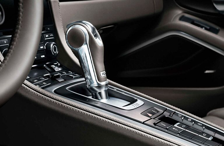 2021 Porsche 718 Cayman shift knob