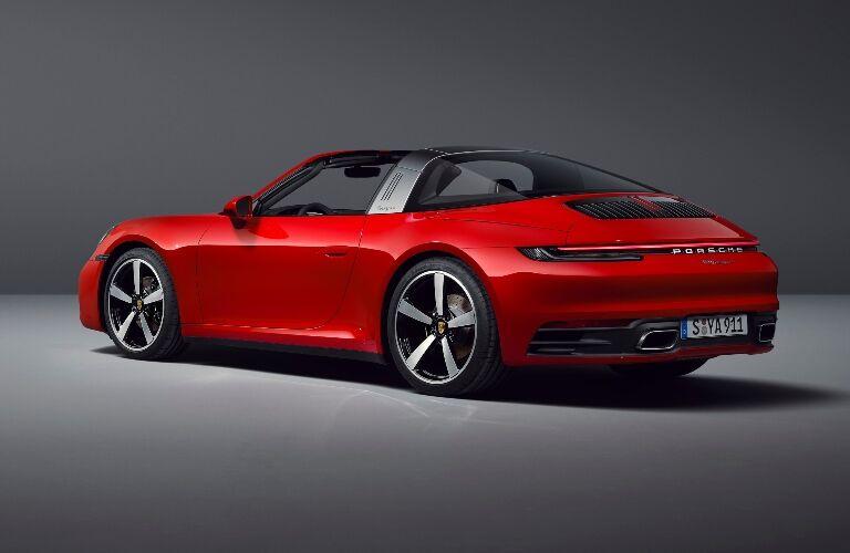 2021 Porsche 911 Targa 4 back end