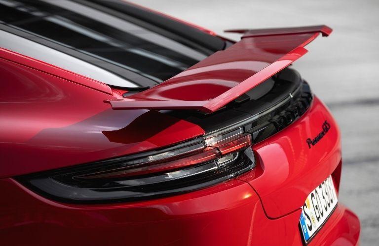 2021 Porsche Panamera GTS close look of the rear exterior