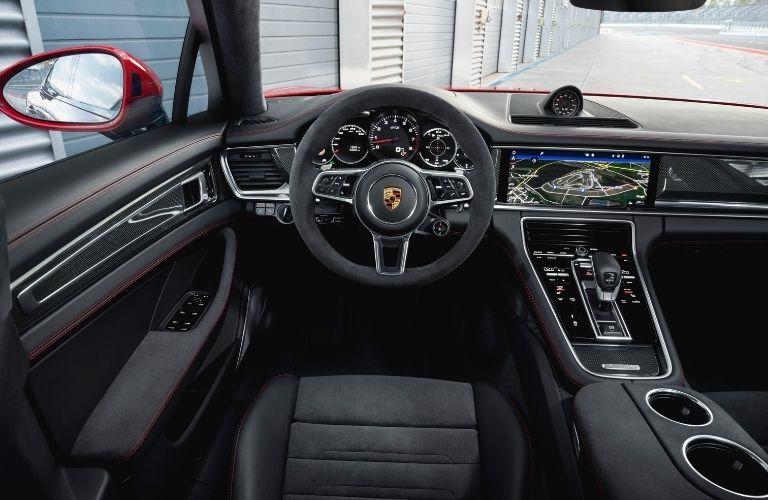 2021 Porsche Panamera GTS cockpit
