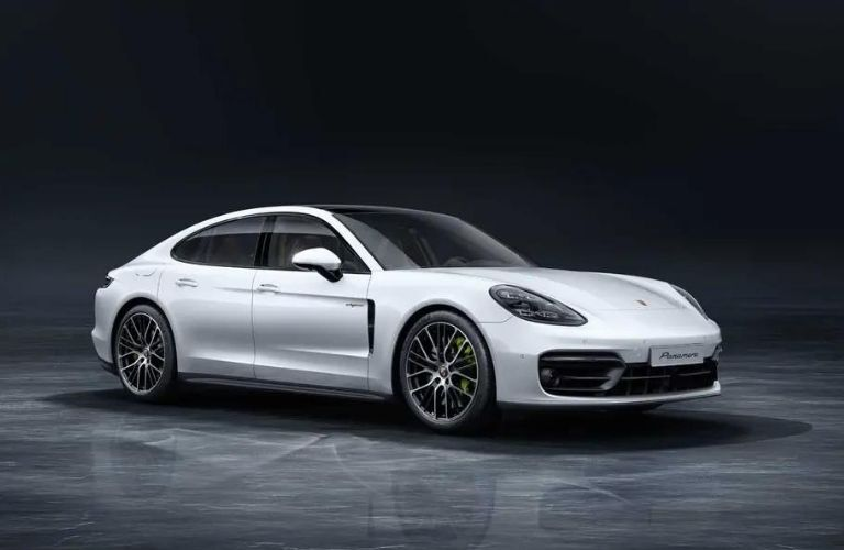 2021 Porsche Panamera Turbo S side and front look