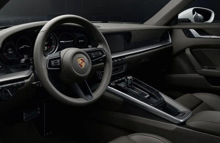 2022 Porsche 911 Carrera GTS dashboard