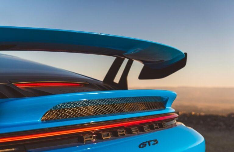 2022 Porsche 911 GT3 back end