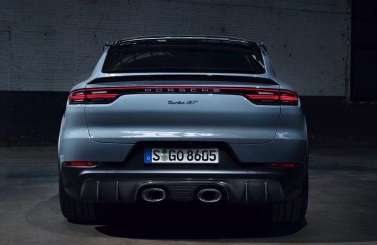 2022 Porsche Cayenne Turbo GT back exterior look