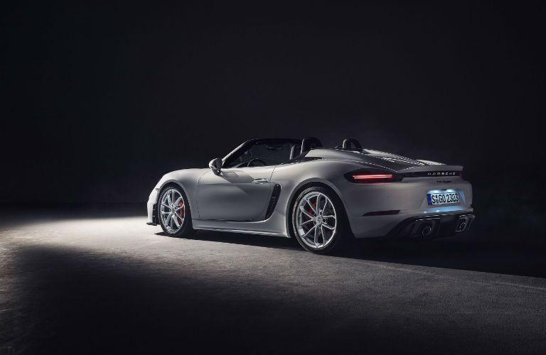 2020 Porsche 718 Spyder side exterior profile