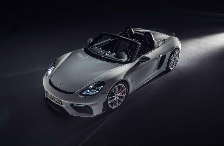 2020 Porsche 718 Spyder exterior profile