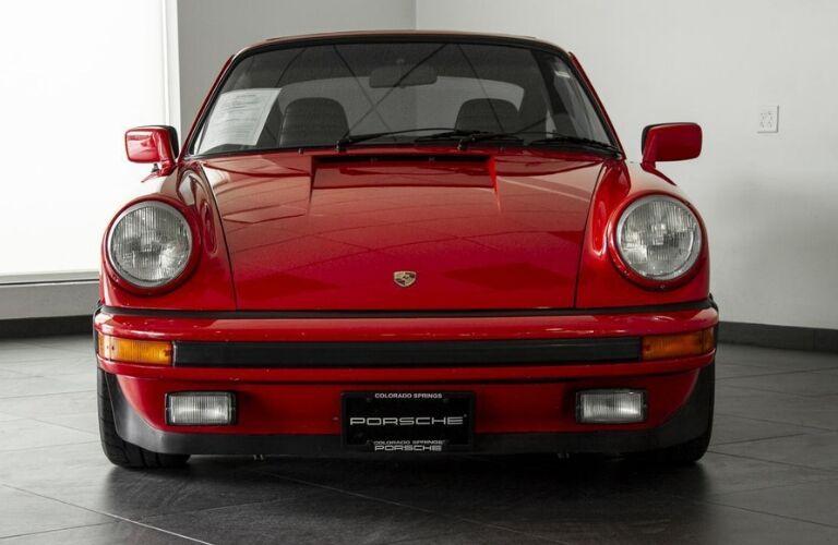 1979 Porsche 911 SC front fascia