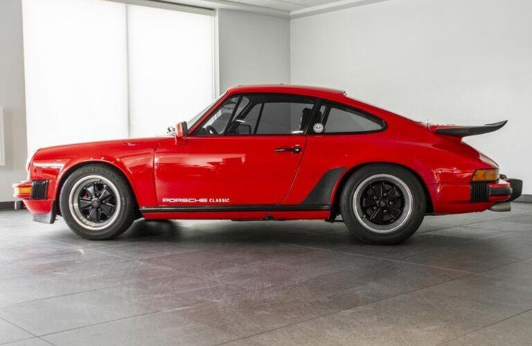 1979 Porsche 911 SC side view