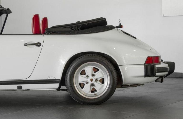 1988 Porsche 911 Carrera Cabriolet rear
