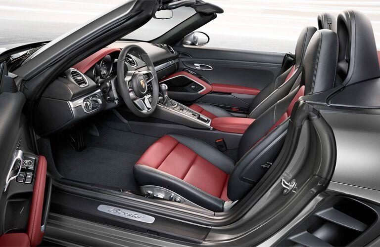 2018 Porsche 718 Boxster front interior