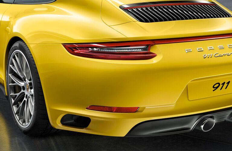 2018 Porsche 911 Carrera rear exterior