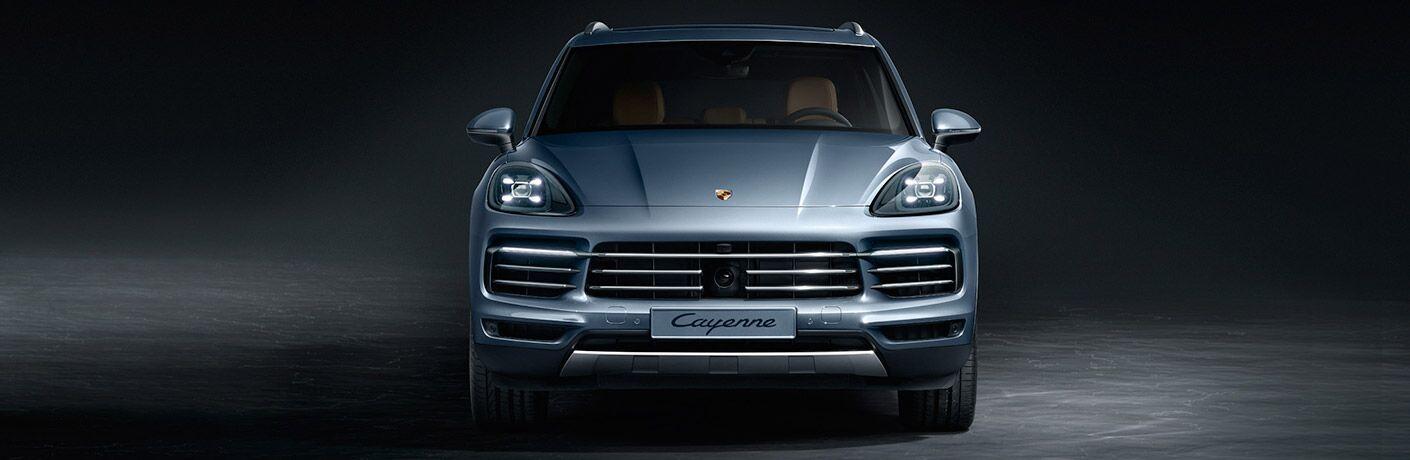 2018 Porsche Cayenne front exterior profile