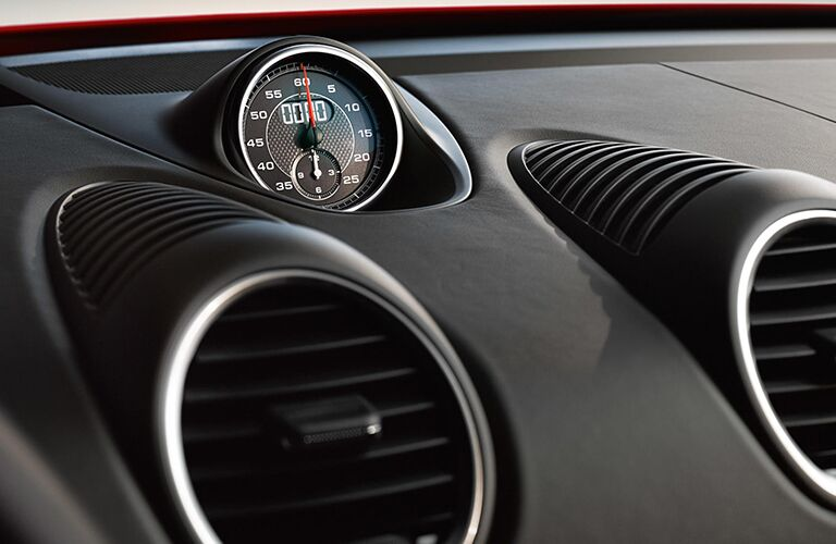 2019 Porsche 718 Cayman GTS dashboard