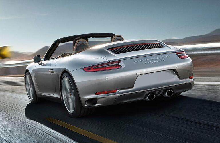 2019 Porsche 911 Carrera rear exterior