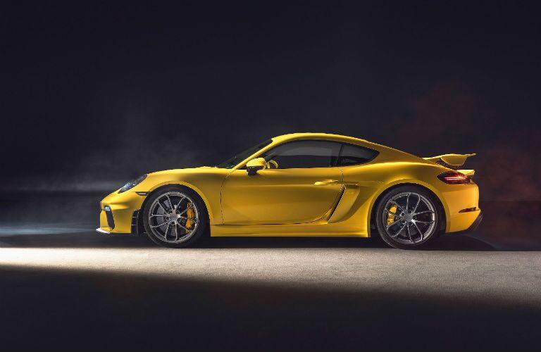 2020 Porsche 718 Cayman GT4 Exterior Driver Side Profile