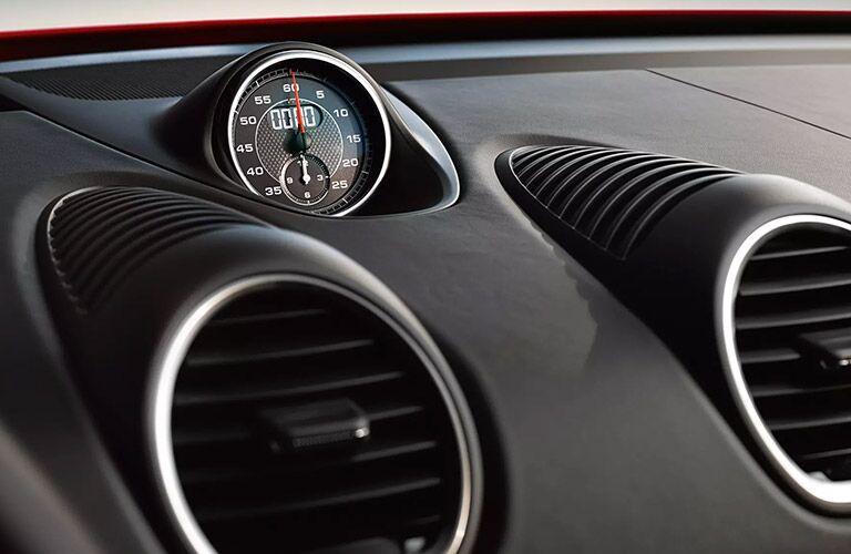 Gauges in 2021 Porsche 718 Cayman