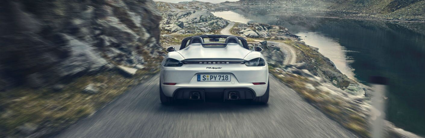 2020 Porsche 718 Spyder Exterior Rear Fascia