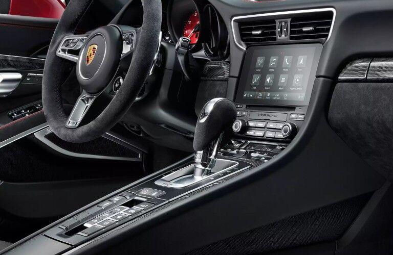 Interior view of 2020 Porsche 911 Carrera GTS