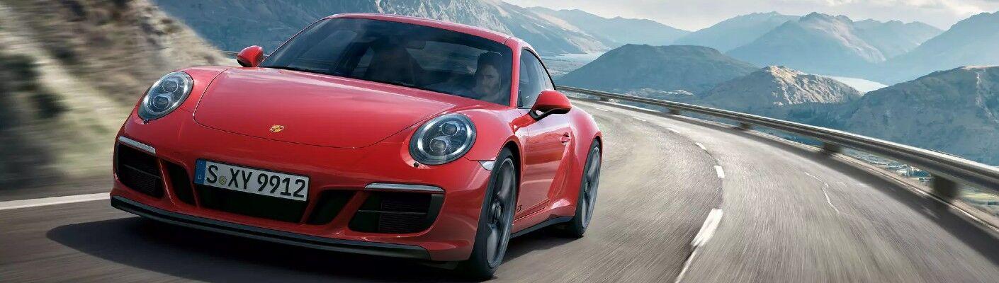 red 2020 Porsche 911 Carrera GTS