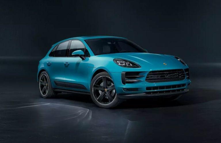 Blue 2020 Porsche Macan