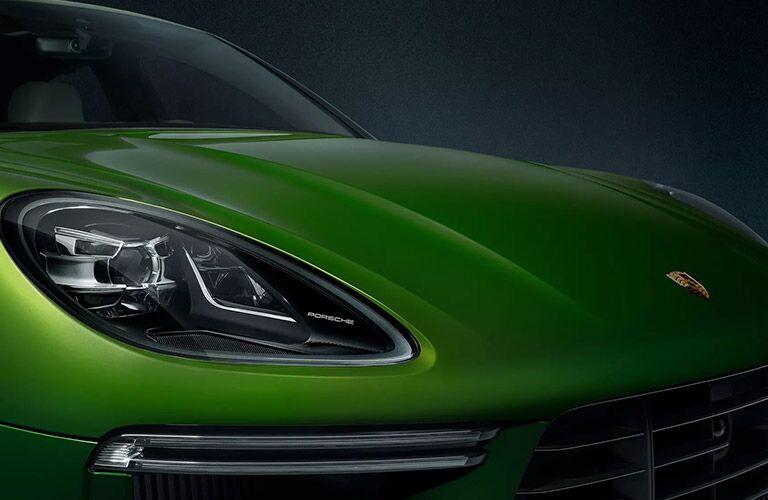 Green 2020 Porsche Macan