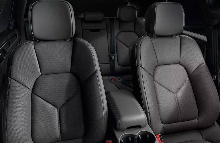 2020 Porsche Macan seating showcase