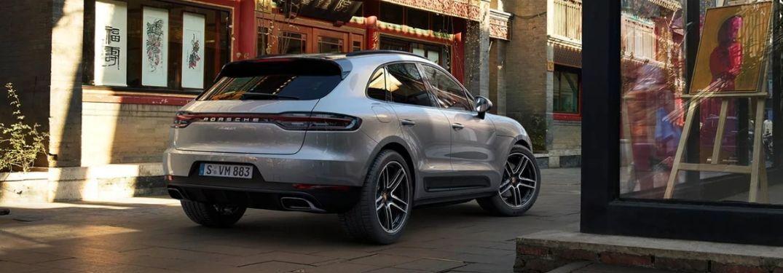 2020 Porsche Macan on town street